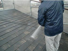 高圧水洗い洗浄